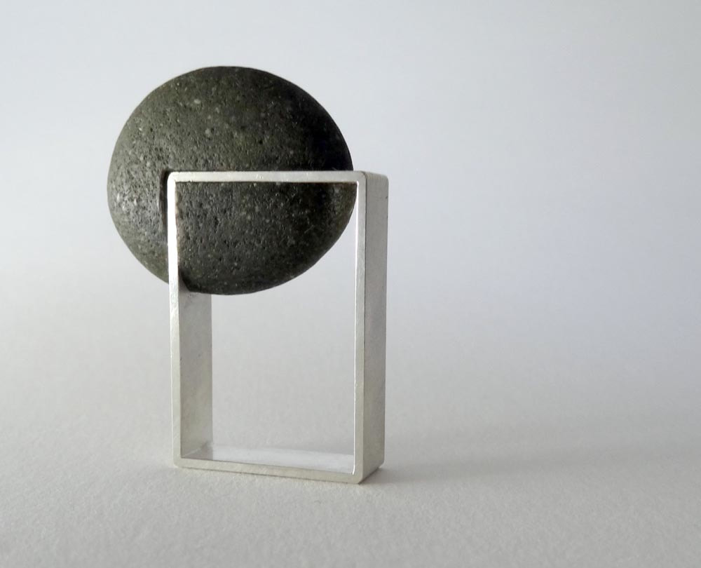 Picture of pebble ring